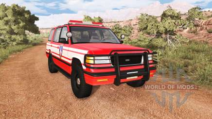 Gavril Roamer DeWitt NY Fire Department Squad para BeamNG Drive