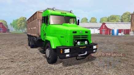 KrAZ 64431 v1.2 para Farming Simulator 2015