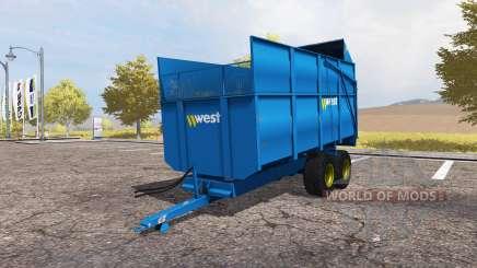 Harry West 10T Silage para Farming Simulator 2013