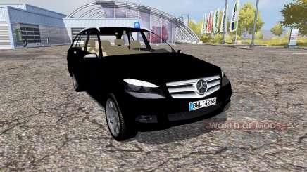 Mercedes-Benz C320 CDI Estate (S204) FBI para Farming Simulator 2013