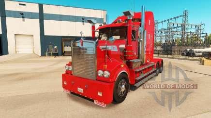 Kenworth T908 v6.0 para American Truck Simulator
