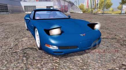 Chevrolet Corvette Z06 (C5) para Farming Simulator 2013