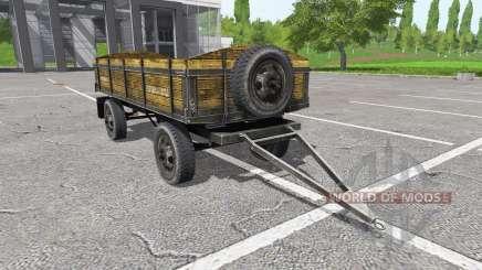 Tractor trailer para Farming Simulator 2017