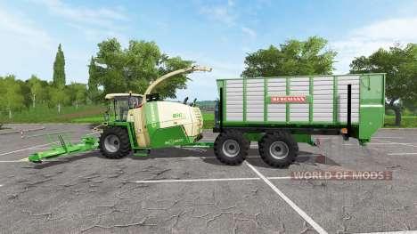 Krone BiG X 1100 ITC para Farming Simulator 2017