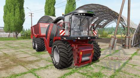 Krone BiG X 1100 cargo v2.0 para Farming Simulator 2017