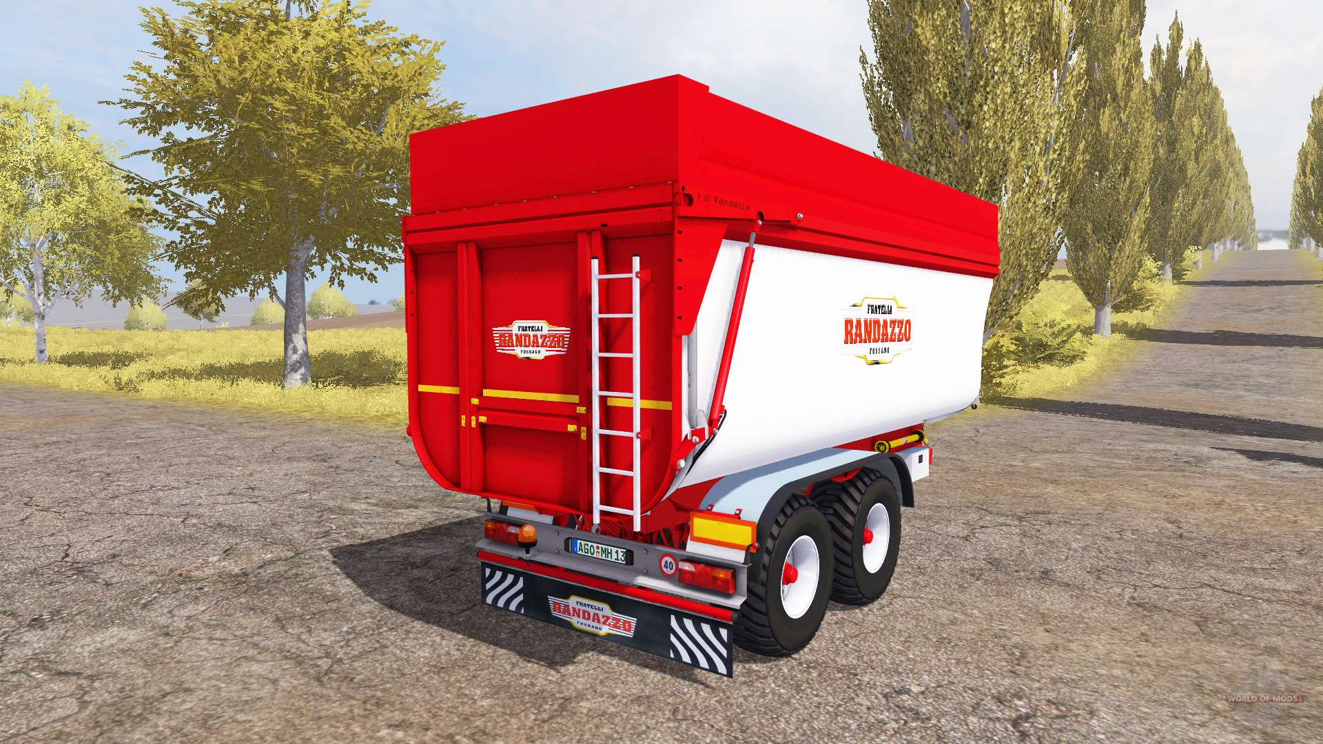 Rimorchi randazzo t60 v1 1 para farming simulator 2013 for Rimorchi randazzo