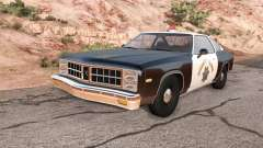 Bruckell Moonhawk California highway patrol para BeamNG Drive