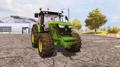 John Deere 6170R v2.0 para Farming Simulator 2013