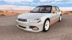 Hirochi Sunburst hatchback v1.01 para BeamNG Drive