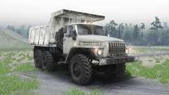 Ural 4320 para Spin Tires