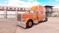 Laranja da pele para o caminhão Peterbilt 389 v1