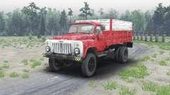 GAZ 53 4x4 para Spin Tires