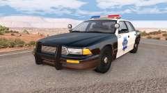 Gavril Grand Marshall SFPD para BeamNG Drive