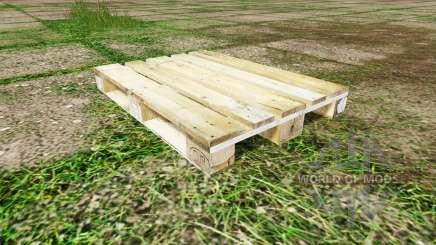 Palete de madeira para Farming Simulator 2017