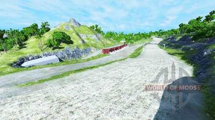XValley raceway para BeamNG Drive