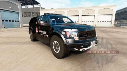 Ford F-150 SVT Raptor v2.2.1 para American Truck Simulator
