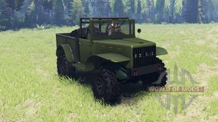 Dodge M37 1941 para Spin Tires
