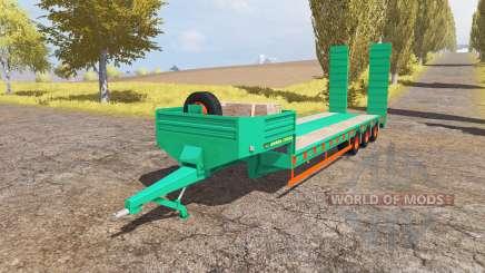 Aguas-Tenias lowboy 3-axis v2.0 para Farming Simulator 2013