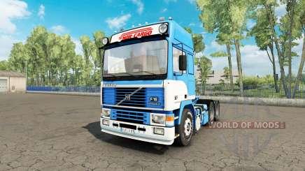 Volvo F16 Nor-Cargo para Euro Truck Simulator 2