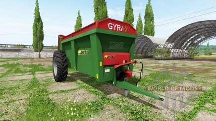 Gyrax EBMX 155 para Farming Simulator 2017
