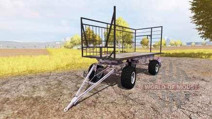 Bale trailer v3.0 para Farming Simulator 2013