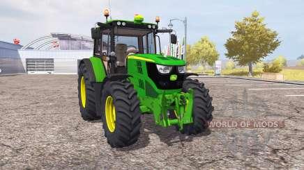 John Deere 6115M v2.0 para Farming Simulator 2013