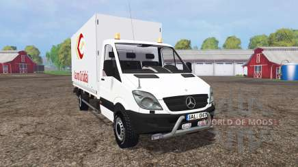 Mercedes-Benz Sprinter 316 NGT (Br.906) para Farming Simulator 2015