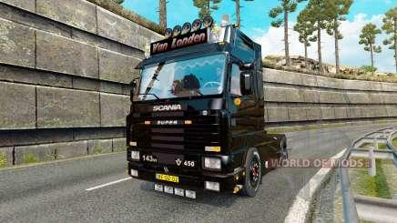 Scania 143M 450 Van Londen para Euro Truck Simulator 2