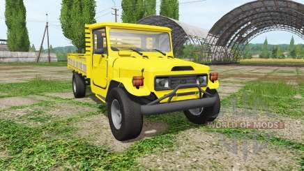 Toyota Land Cruiser Bandeirante (OJ55LP) para Farming Simulator 2017