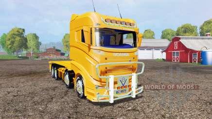Scania R1000 container truck v1.1 para Farming Simulator 2015