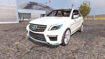 Mercedes-Benz ML 63 AMG (W166) para Farming Simulator 2013