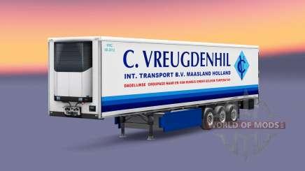 Dutch trailers pack para Euro Truck Simulator 2