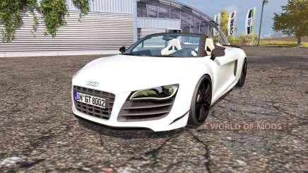 Audi R8 Spyder para Farming Simulator 2013