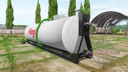 Fliegl hooklift para Farming Simulator 2017