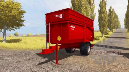 Krampe Big Body 600 E para Farming Simulator 2013