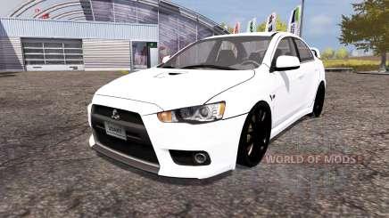 Mitsubishi Lancer Evolution X para Farming Simulator 2013