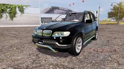 BMW X5 4.8is (E53) para Farming Simulator 2013
