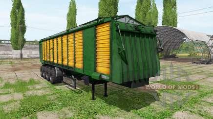 Tipper semitrailer para Farming Simulator 2017