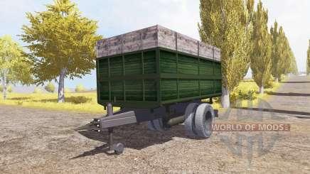 Tipper trailer v2.0 para Farming Simulator 2013