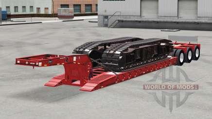 Baixa varrer Etnyre com pesos v2.0 para American Truck Simulator