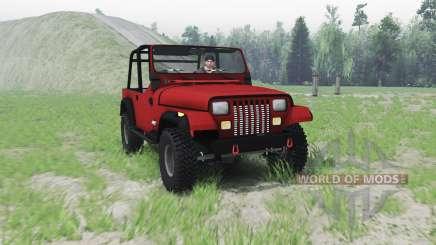Jeep Wrangler (YJ) 1996 para Spin Tires