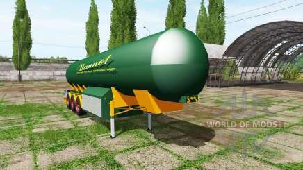 Manure trailer para Farming Simulator 2017