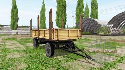 Timber trailer automatic loading para Farming Simulator 2017