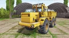 Kirovets K 701 6x6 descarga de caminhão