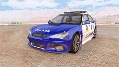 Hirochi Sunburst chinese police v2.0 para BeamNG Drive