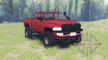 Dodge Ram 2500 Club Cab 2000 para Spin Tires