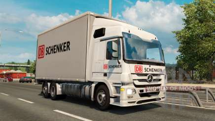 Tandem truck traffic v1.1 para Euro Truck Simulator 2