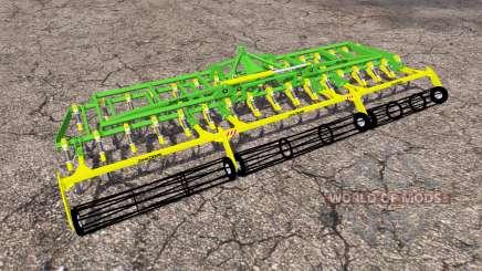 John Deere cultivator para Farming Simulator 2013