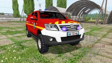 Toyota Hilux para Farming Simulator 2017