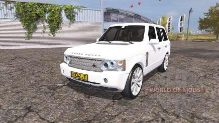 Land Rover Range Rover Supercharged (L322) 2009 para Farming Simulator 2013